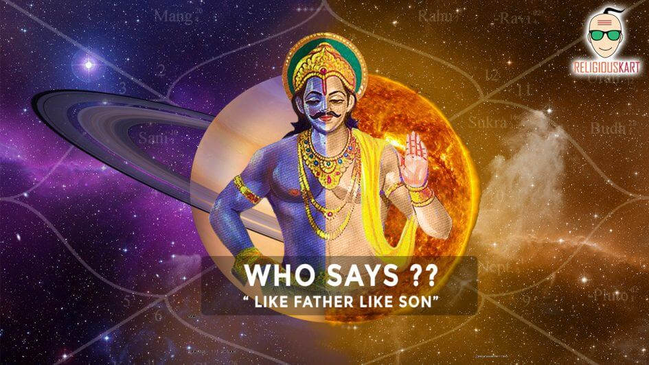 lord shani dev story surya putra shani dev religiouskart