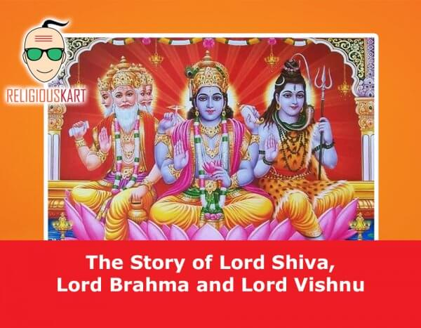 Shiva brahma vishnu