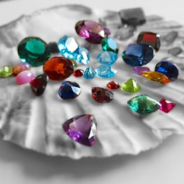 gemstones and stones