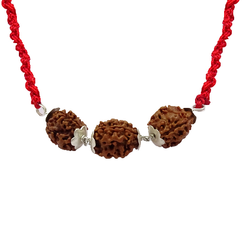 Saraswati pendant rudraksha combination for Diwali
