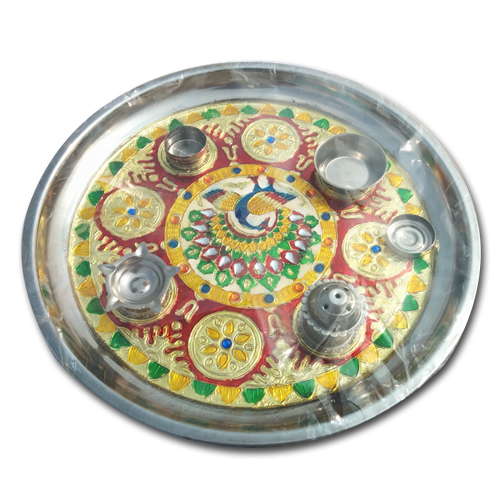 Puja Thali for Diwali