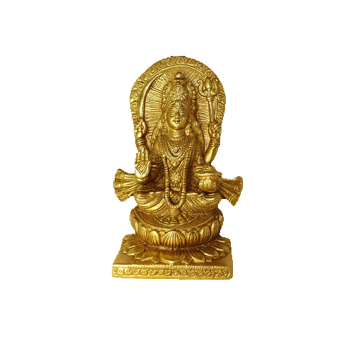 Santoshi Maa In Brass