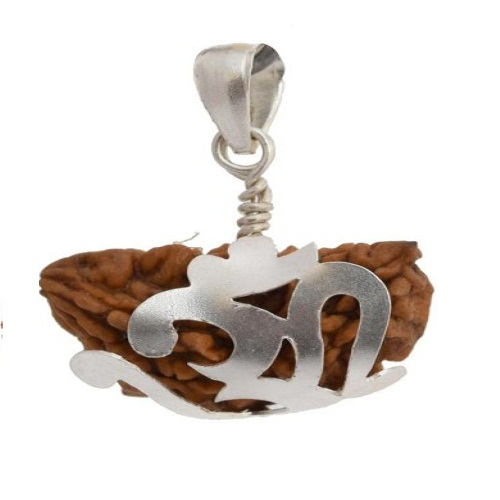 Certified 1 Face Rudraksha with Silver Cap