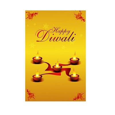 Beautifull Multicolour Uplifting Diwali Poster