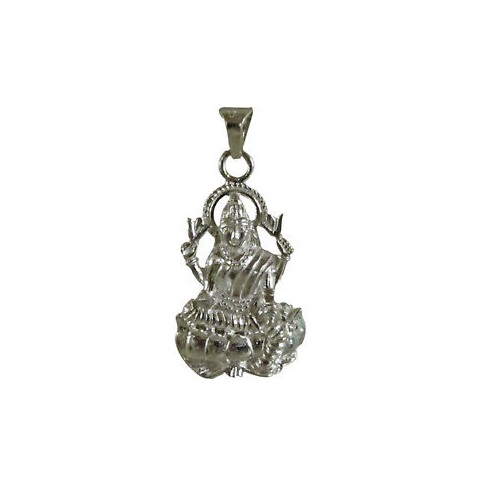 Lord Surya In Silver Pendant