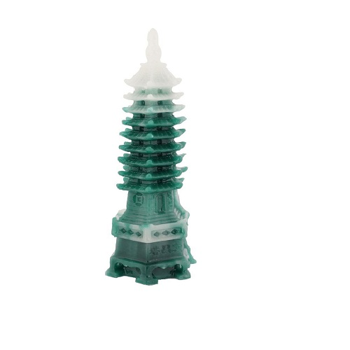 Feng Shui Educational Tower Green