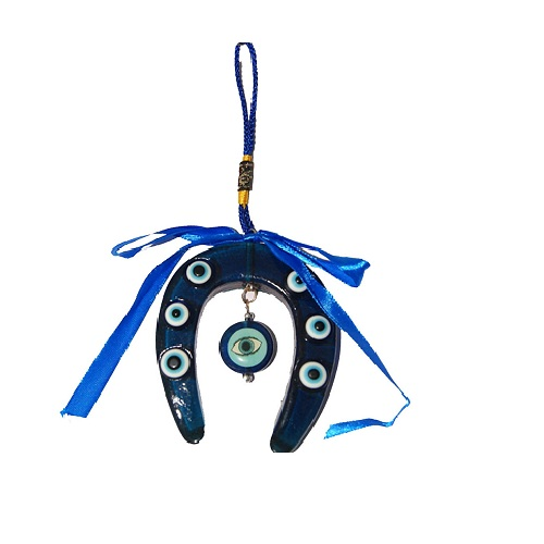 Feng Shui Evil Eye With Horse Shoe Hanging