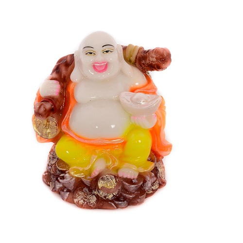 Feng Shui Laughing Buddha with Coin Bag