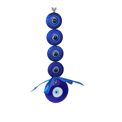 Blue Small Evil's Eye Protector For Good Luck