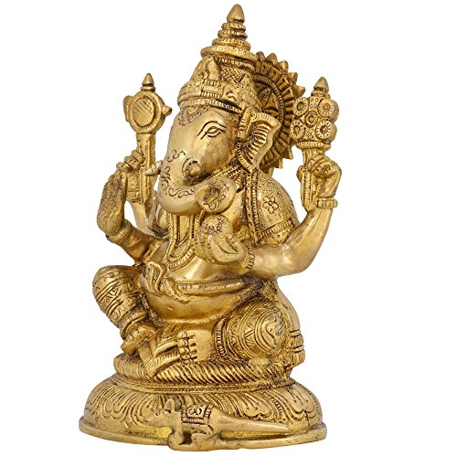 Brass Ganesha for Ganesh Chaturthi