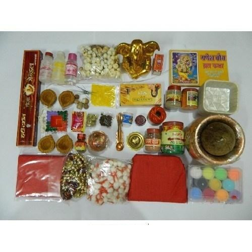Ganesh Chaturthi Puja Kit  Idol for Ganesh Chaturthi