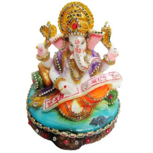 Buy Munim Ji Lekha Ganesh  Idol for Ganesh Chaturthi