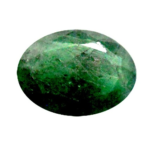 Green Panna Faceted Astrological Gemstones