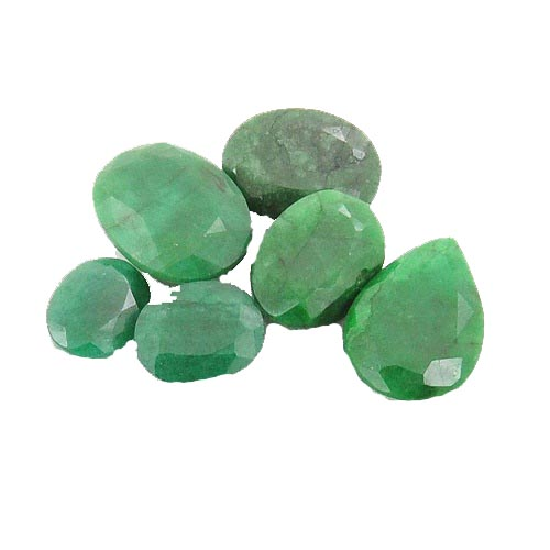 25.00 Ct. Certified Panna Emerald Stone