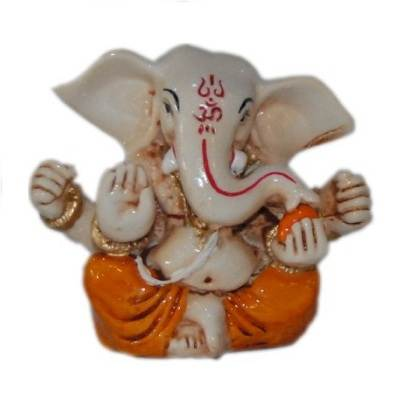 Religious Idols of Lord Ganesha, best choice for car decor Showpiece