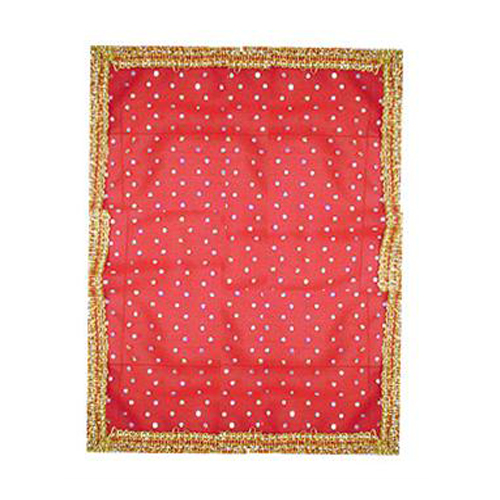 Mata Ki Chunnri  Red Dotted For Navratri
