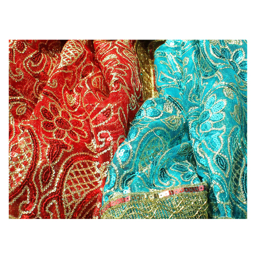 Mata Ki Chunnri Red and Turquoise For Navratri