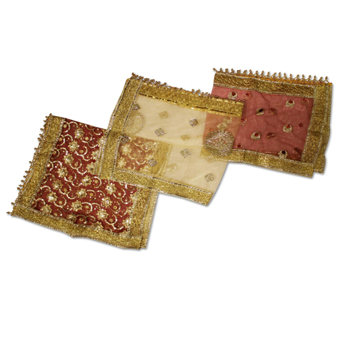 Mata ki Chunri Small Set of 3 For Navratri