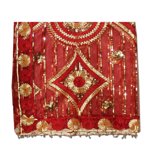 Designer Red Mata ki Chunri For Navratri