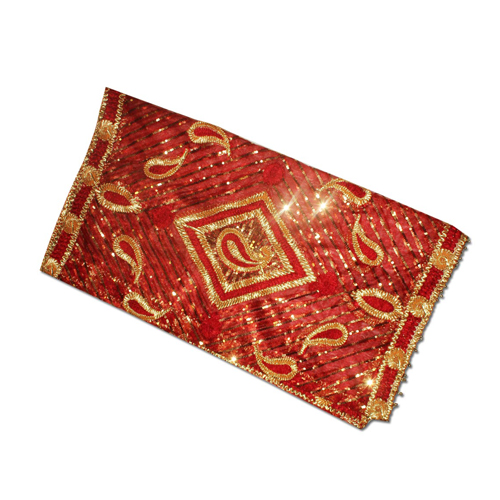 Designer Red Mata ki Chunri Small For Navratri