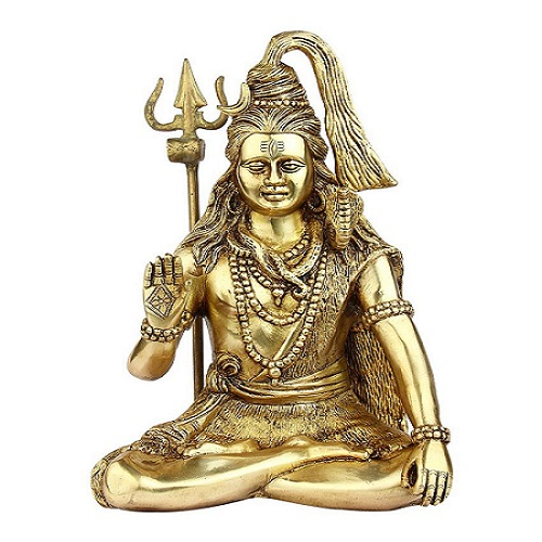 Brass Lord Shiva Idol