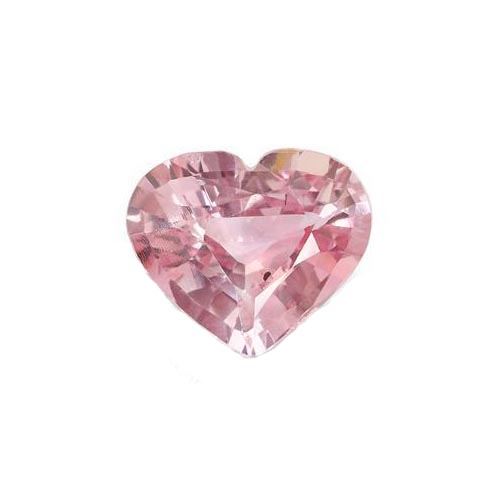 5.09 Ct. Heart Pink Sapphire