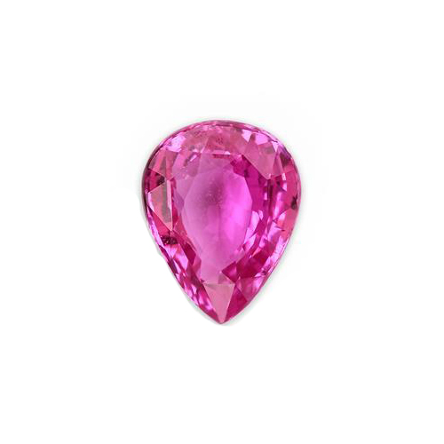 2.95 Ct. Pear Pink Sapphire