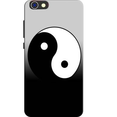Printed Yin Yang Back Cover for HONOR 4X