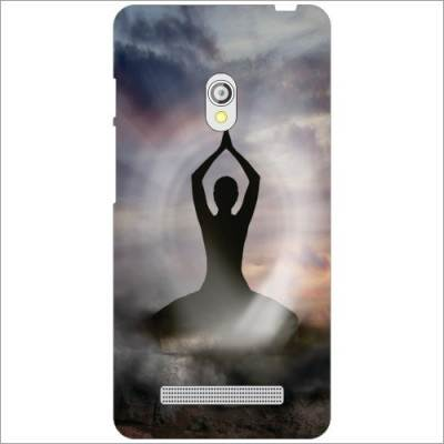 Designer Yoga Statue Printed Back Cover for Asus Zenfone 5 A501CG
