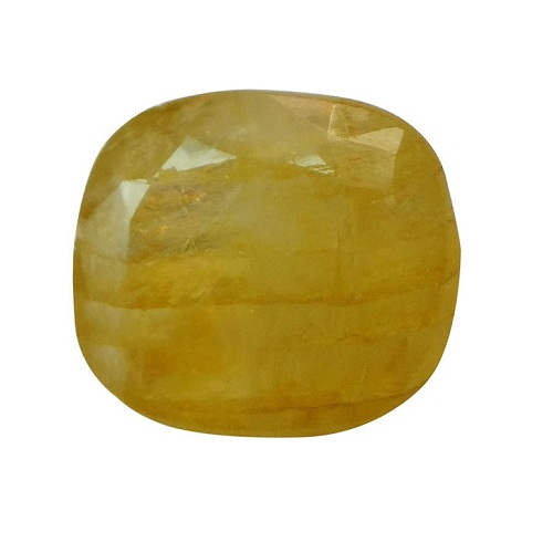3.12 Ct.-3.47 Ratti Natural & Certified Yellow Sapphire