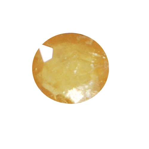 Natural Yellow Sapphire 4.75 Ct Lab Certified