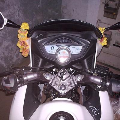 Buy Bike Purchase Muhurat